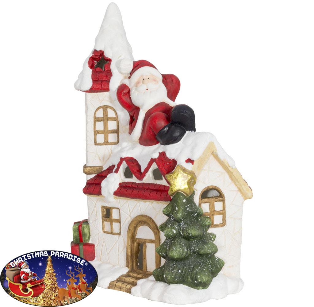 Outdoor Weihnachtsdeko Haus 49cm