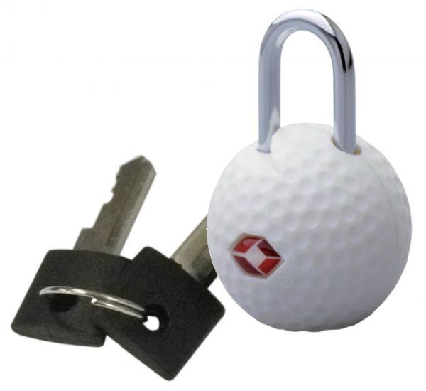 Kofferschloss / TSA-Schloss Golfball