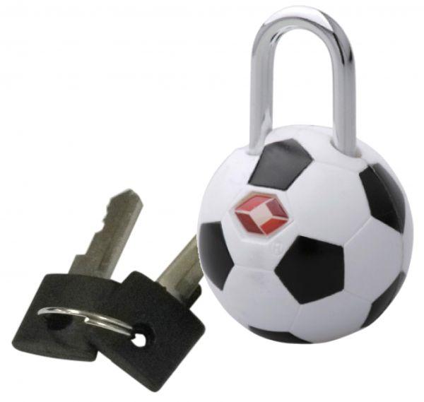 Kofferschloss / TSA-Schloss Fußball