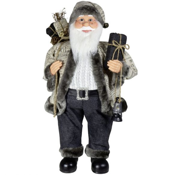 Weihnachtsmann 80cm Oskar Santa