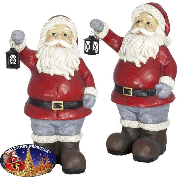 Outdoor Weihnachtsdeko Santa 83cm