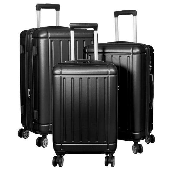 Polycarbonat Kofferset 3tlg Parma