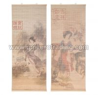 Wanddekoration Bambus