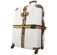 Kreuz-Koffergurt 2-Wege Regenbogen