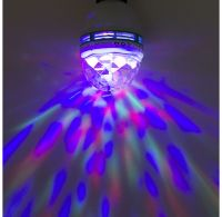 LED Disco Lampe rotierend