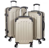 ABS-Kofferset 3tlg Avalon II pastell-champagner