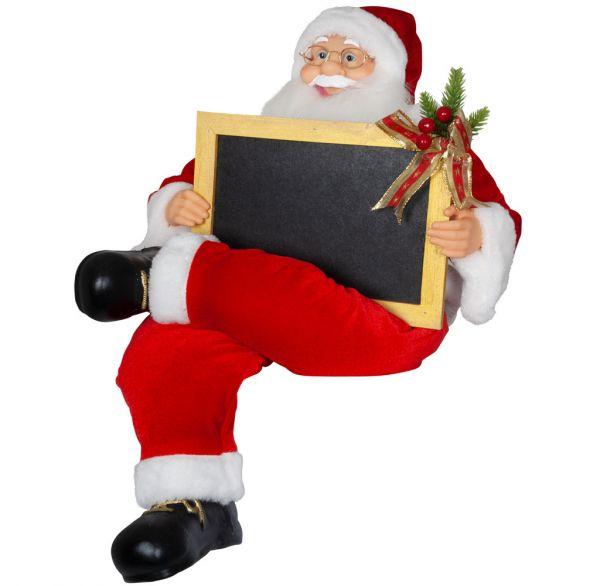 Santa 60cm mit flexiblen Beinen