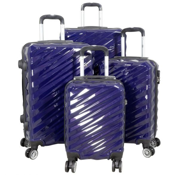 Polycarbonat Kofferset 4tlg Messina