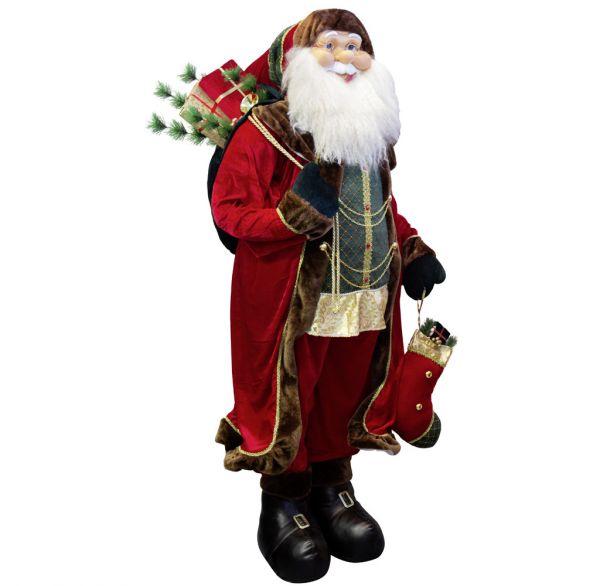 Santa Yannick 180cm Lebensgröße