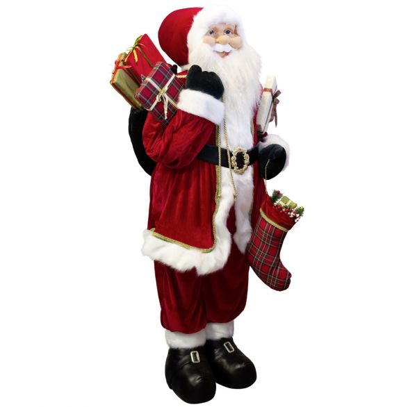 Santa Leander 180cm Lebensgröße