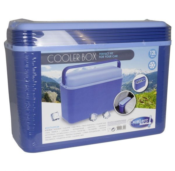Kühlbox Kunststoff 12 Liter blau