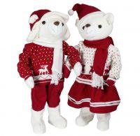 Weihnachtsbär 60cm - 2 Designs