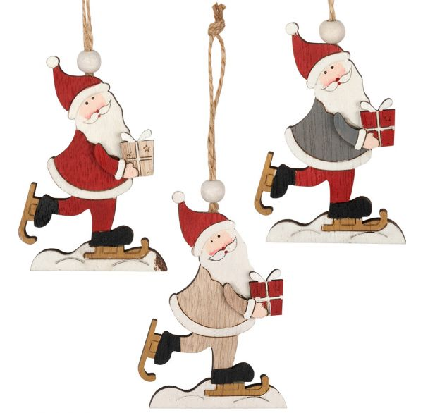 Baumschmuck Santa 10cm