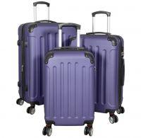 ABS-Kofferset 3tlg Avalon II pastell-blau