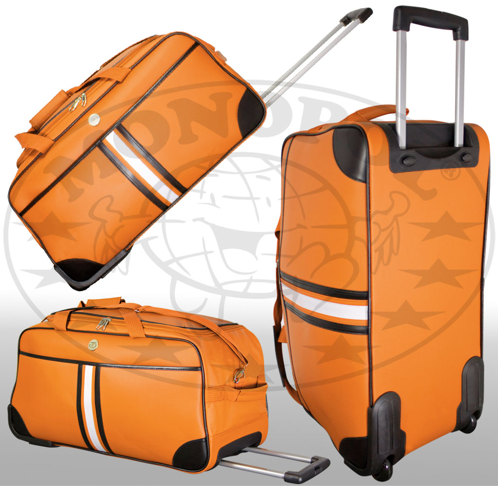 Trolleytasche Amsterdam orange