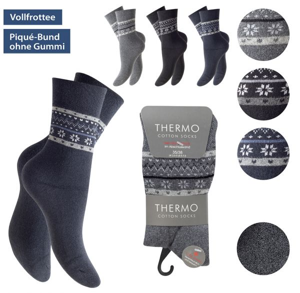 Thermosocken Damen 3er Pack