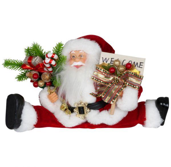 Santa 45cm mit flexiblen Beinen