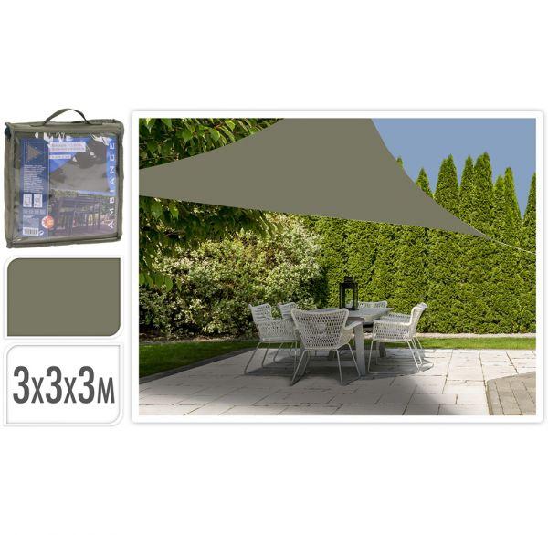 Sonnensegel 3x3m olivegrün