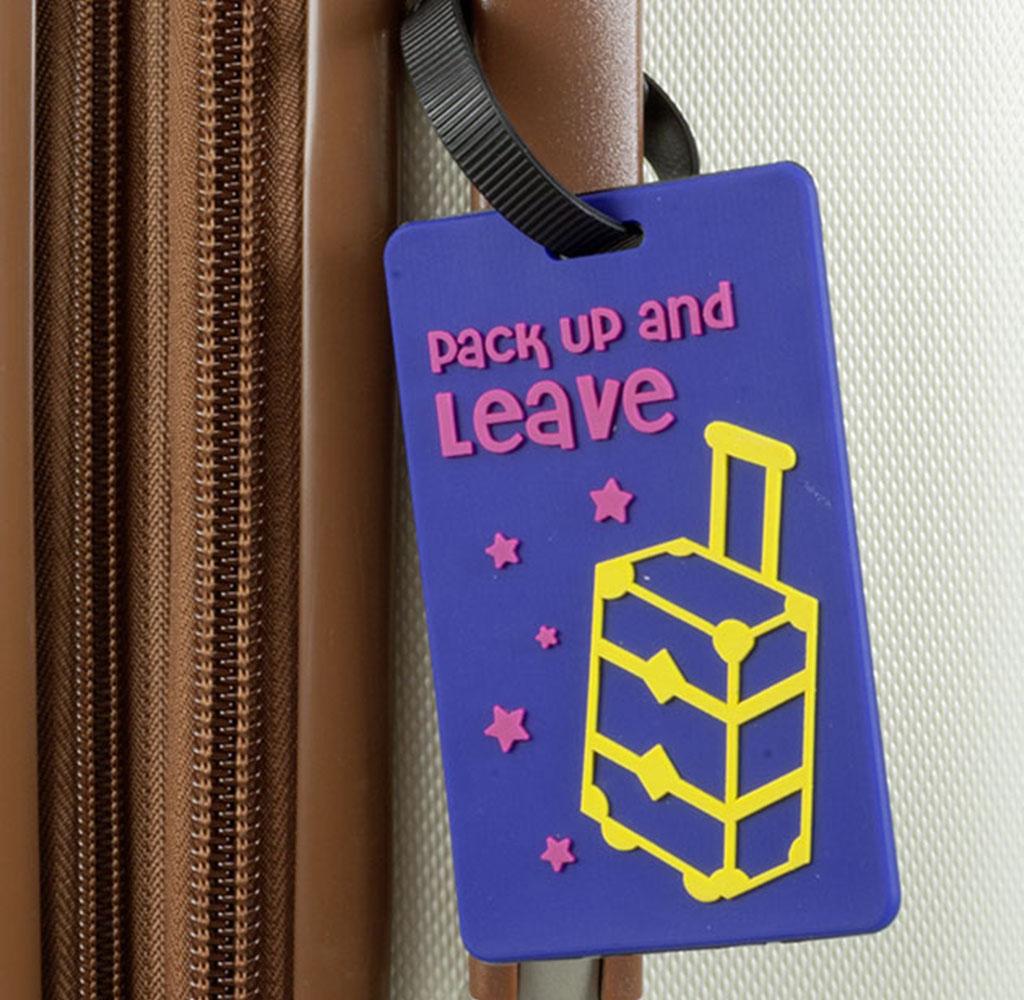 Kofferanhänger / Adressschild Doppelpack
