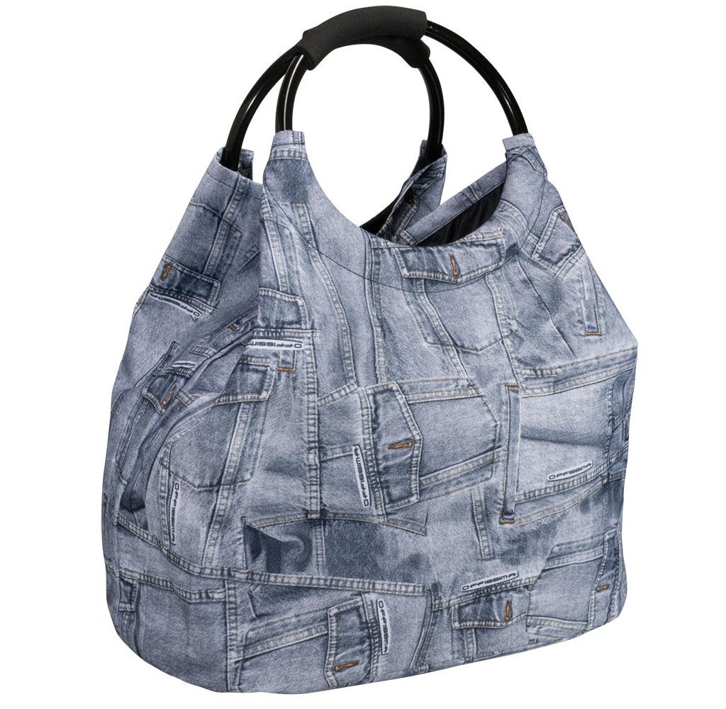 Freizeittasche Jeanslook